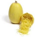 Courge spaghetti recette