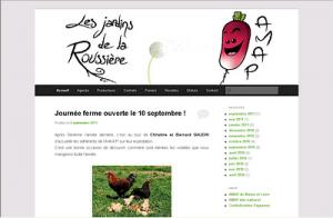 Capture écran nouveau site AMAP