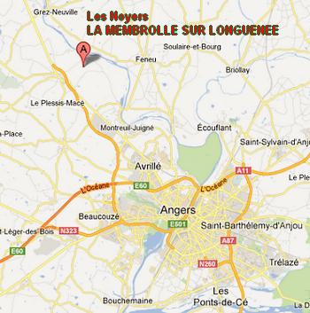 Plan Richard MICKAEL Les Noyers La Membrolle Sur Longuenee