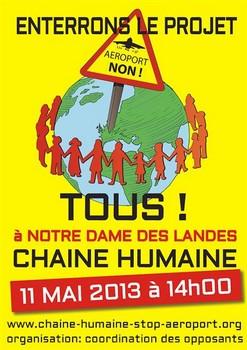 Affiche officielle manifestation NDDL