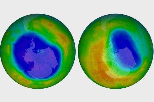 Trous d'ozone