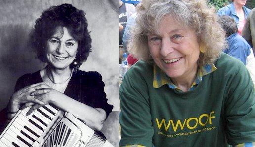 Sue COPPARD en 1971 et aujourd'hui